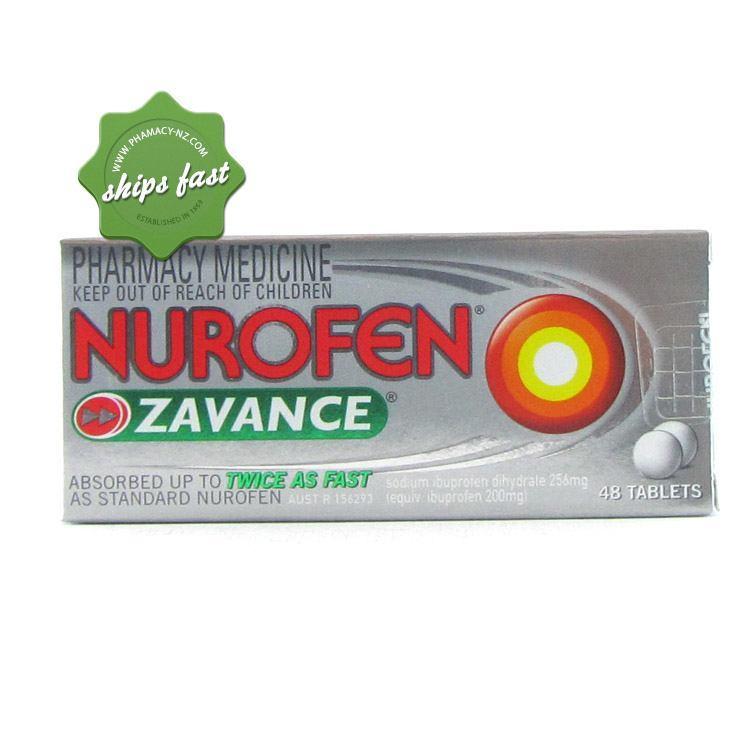 NUROFEN ZAVANCE TABLETS 48s