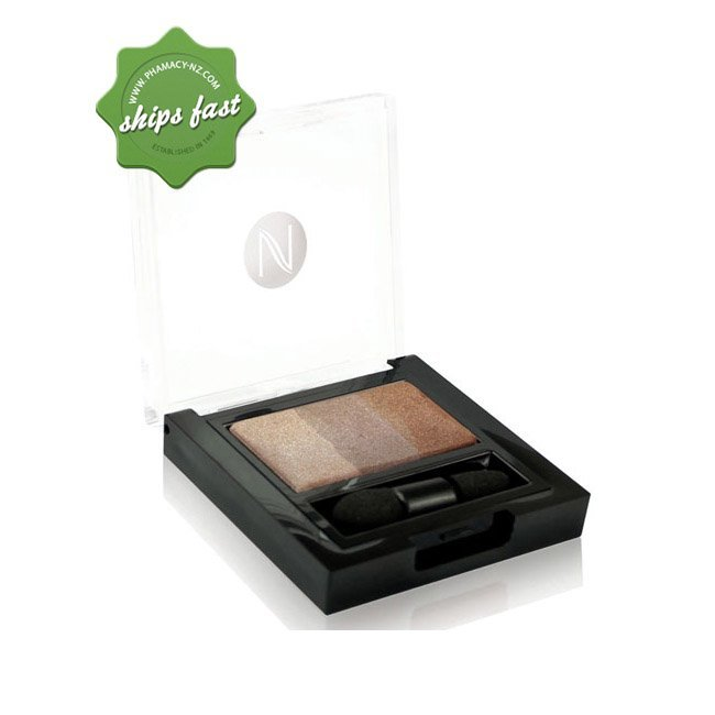 NATIO BAKED MINERAL EYESHADOW TRIO BRONZED (Special buy online only)