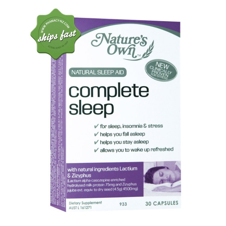 NATURES OWN COMPLETE SLEEP CAPSULES 30S