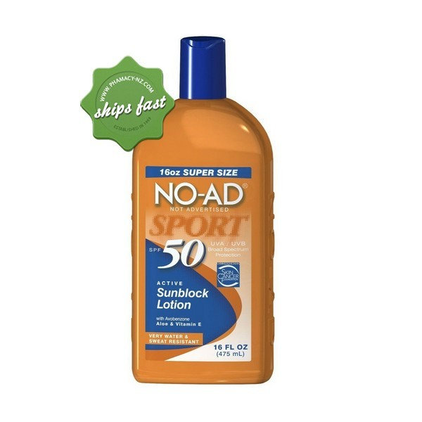 NO AD SPF 50 SPORT 475ML (Special buy online only)