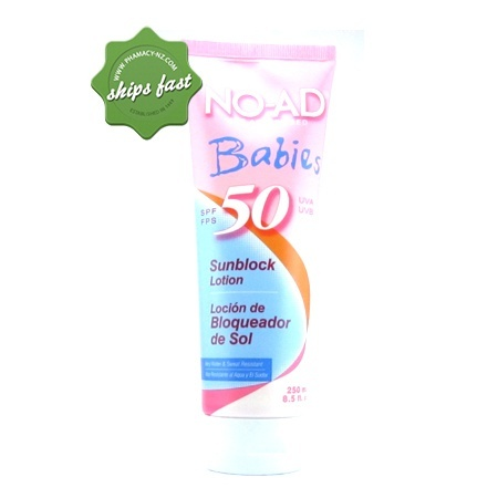 NO AD BABIES SPF 50 250ML (Special buy online only)