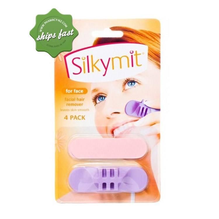 SILKYMITFACIAL HAIR REMOVER 4 PACK