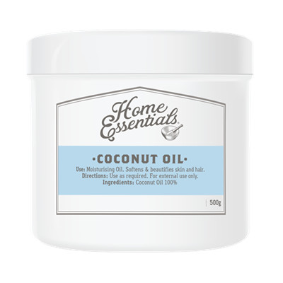 HOME ESSENTIALS COCONUT OIL 500 GR