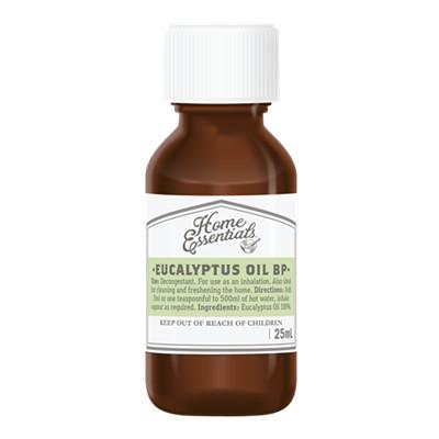 HOME ESSENTIALS EUCALYPTUS OIL 25ml