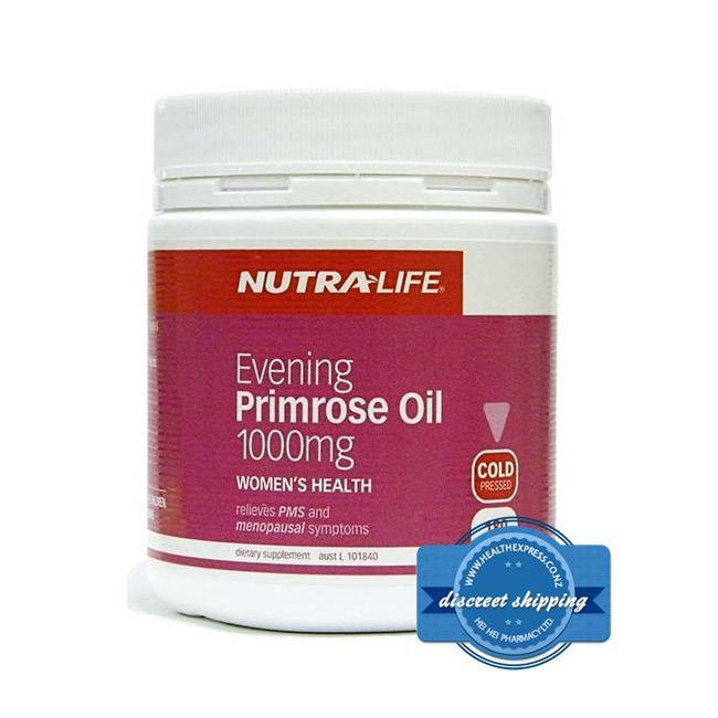 NUTRALIFE EVENING PRIMROSE OIL 1000MG 180 CAPSULES