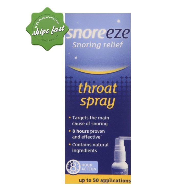 SNOREEZE THROAT SPRAY 23 5ml