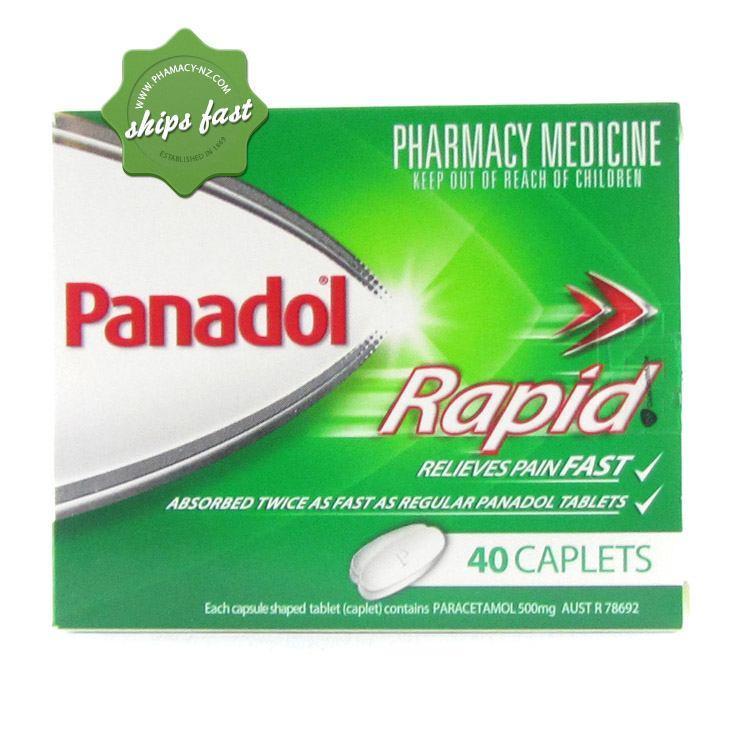 PANADOL RAPID 40