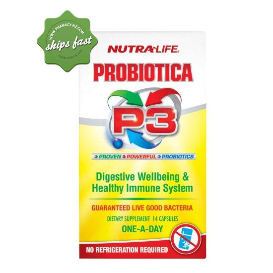 NUTRALIFE PROBIOTICA P3 CAPSULES 14