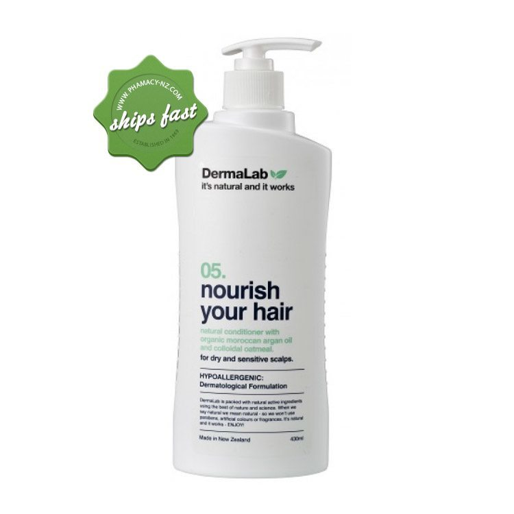 DERMALAB NOURISH YOUR HAIR CONDITIONER 430ML (Special buy online only)