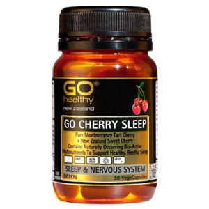 GOHEALTHY GO CHERRY SLEEP 30 VEGECAPS
