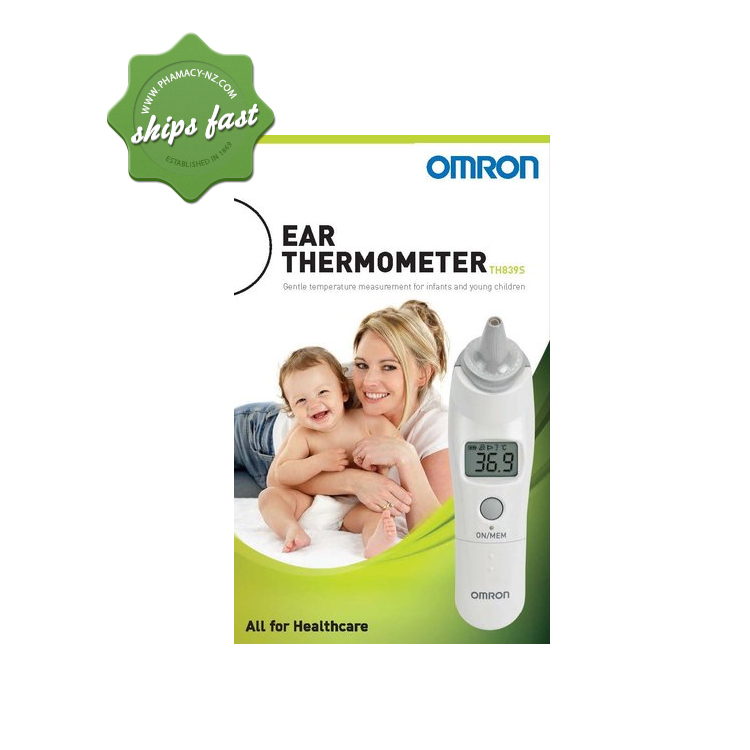 OMRON TH839S EAR THERMOMETER SHIPS FAST- FREIGHT FREE -