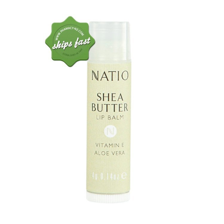 NATIO SHEA BUTTER LIP BALM (Special buy online only)