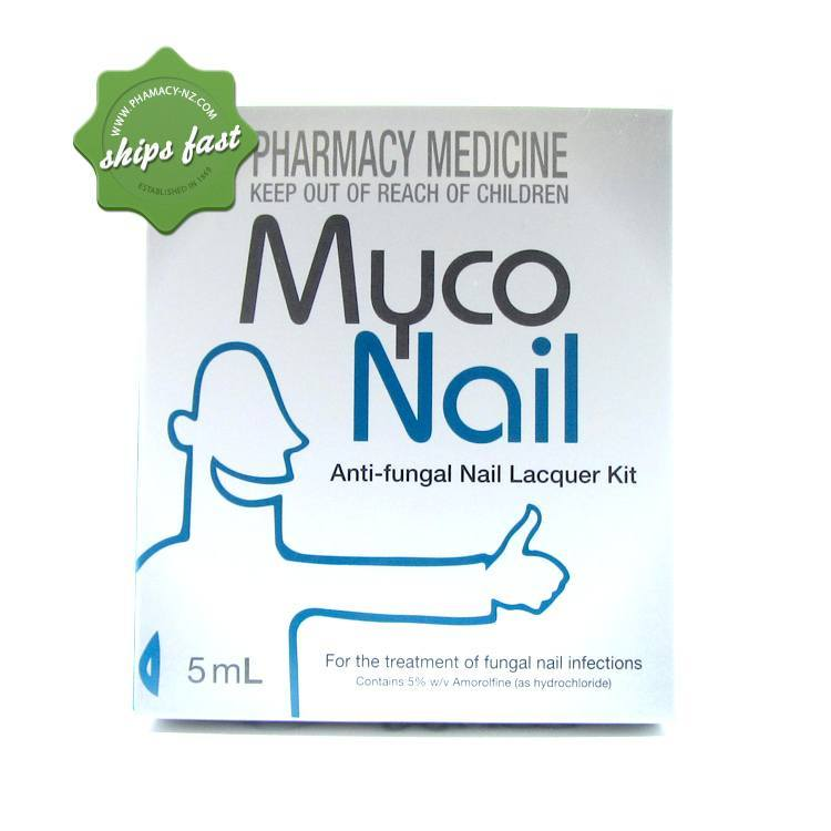Buy Myconail Antifungal Nail Lacquer Kit 5ml -