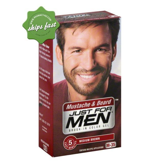 JUST FOR MEN BEARD MEDIUM BROWN (Special buy online only)