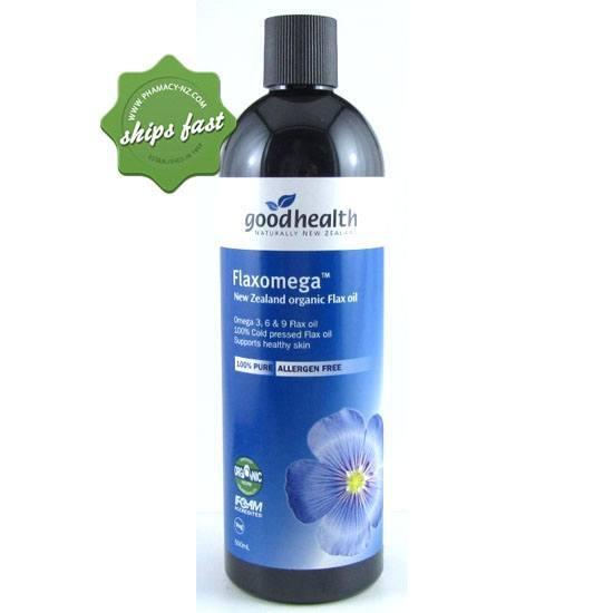 GOOD HEALTH FLAXOMEGA 500ML