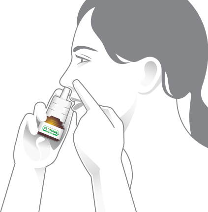 Using flixonase nasal spray