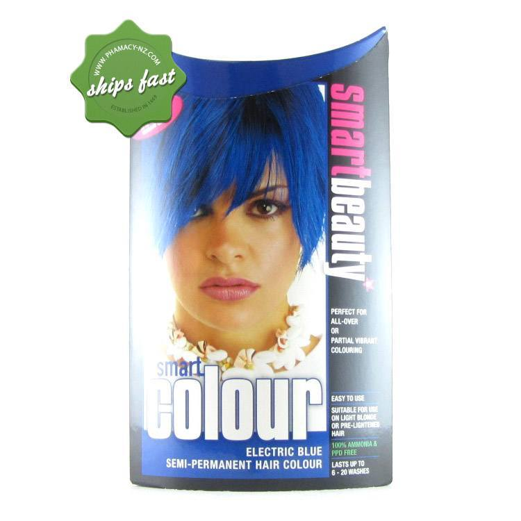 Buy Smart Colour Electric Blue Semi Permanent Hair Color Pharmacy Nz