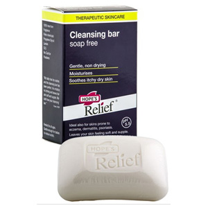 HOPES RELIEF CLEANSING BAR SOAP FREE 110G (Special buy online only)