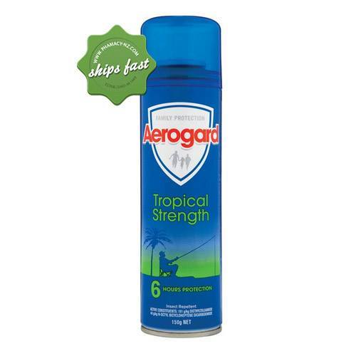 AEROGARD INSECT REPELLENT AERO TROPICAL 150G (Special buy online only)