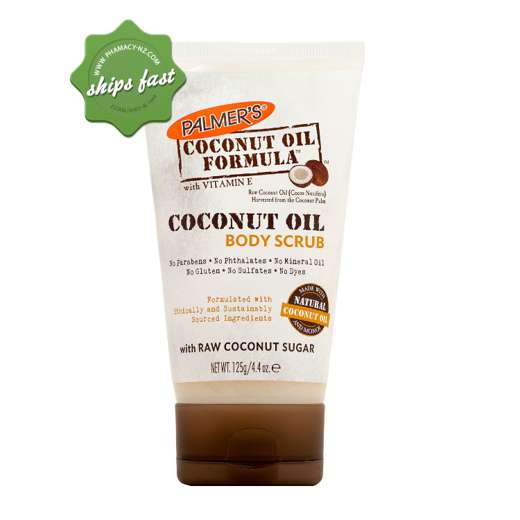 PALMERS COCONUT OIL BODY SCRUB 125G (Special buy online only)