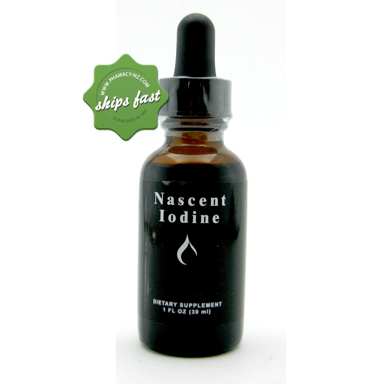 NASCENT IODINE DROPS 25ml WS