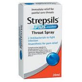 STREPSILS PLUS THROAT SPRAY 20ML