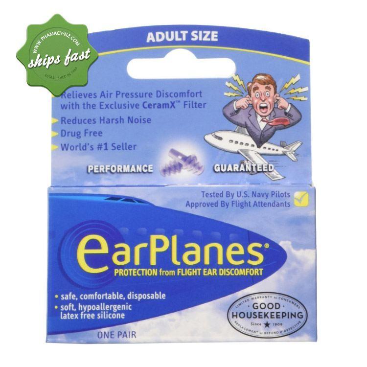 EAR PLUGS EARPLANES ADULTS