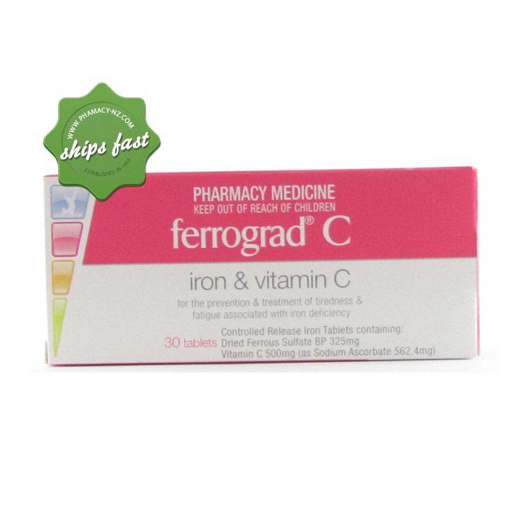 FERROGRAD C 30 TABLETS