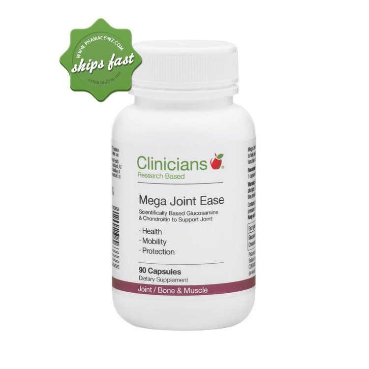 CLINICIANS MEGA JOINT EASE CAPSULES 90