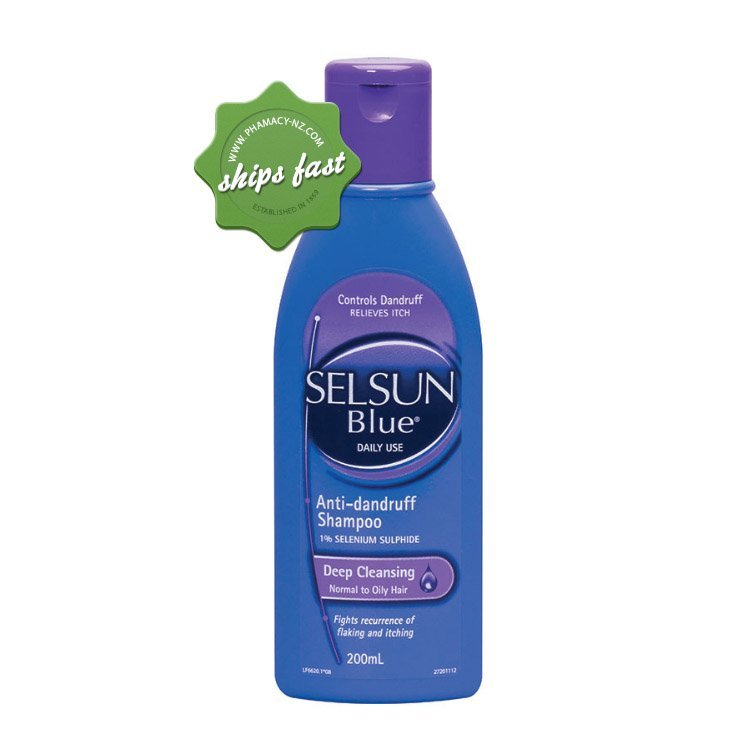 SELSUN BLUE REPLENISHING SHAMPOO 200ML (Special buy online only)