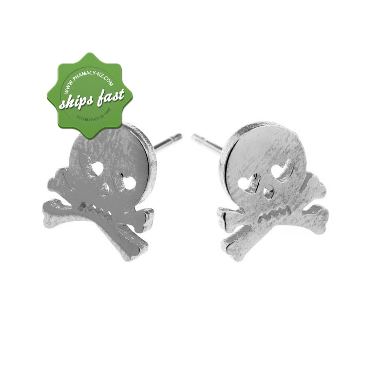 EURO STEEL SKULL AND CROSSBONES