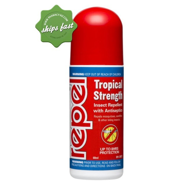 REPEL TROPICAL ROLL ON 60ML (Special buy online only)