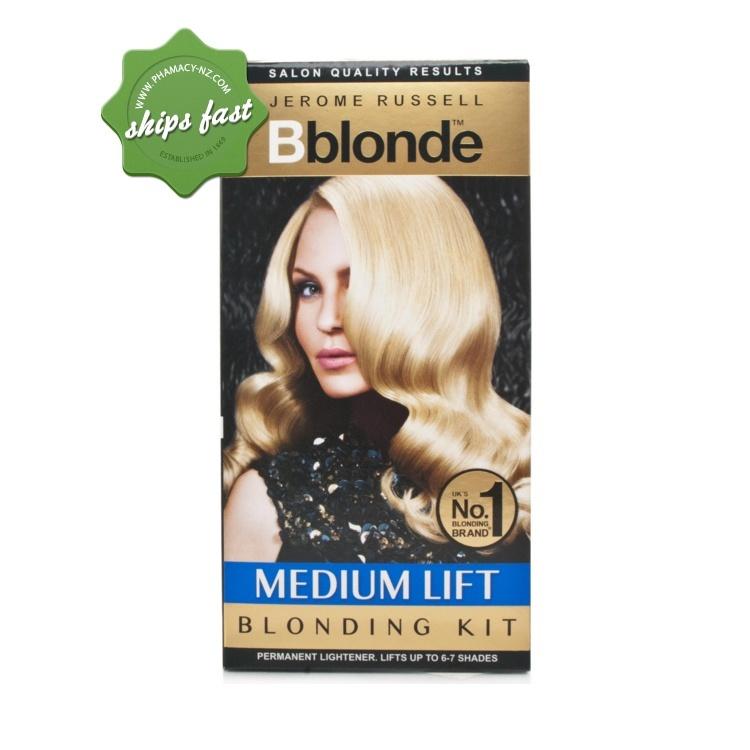 JEROME RUSSEL B BLONDE HAIR LIGHTENER LIGHT TO MEDIUM HAIR (Special buy online only)