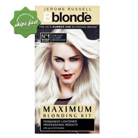 JEROME RUSSEL B BLONDE HAIR LIGHTENER MEDIUM TO DARK HAIR (Special buy online only)