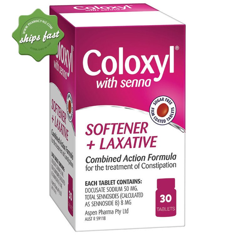 COLOXYL AND SENNA TABLETS 30