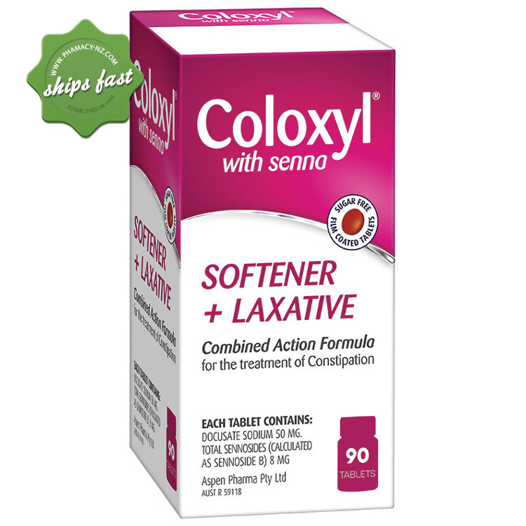 COLOXYL WITH SENNA TABLETS 90