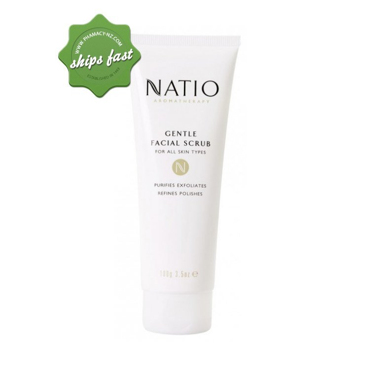 NATIO FACE GENTLE FACIAL SCRUB (Special buy online only)
