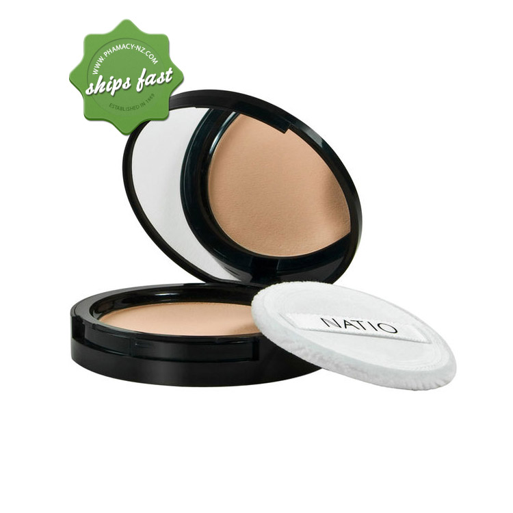 NATIO PRESSED POWDER PECAN (Special buy online only)