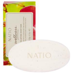 NATIO WELLNESS EXFOLIATING BODY BAR 130G (Special buy online only)