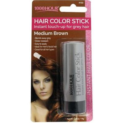 1000 Hour Hair Colour Stick Medium Brown