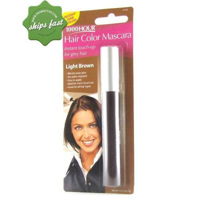1000 HOUR HAIR MASCARA LIGHT BROWN
