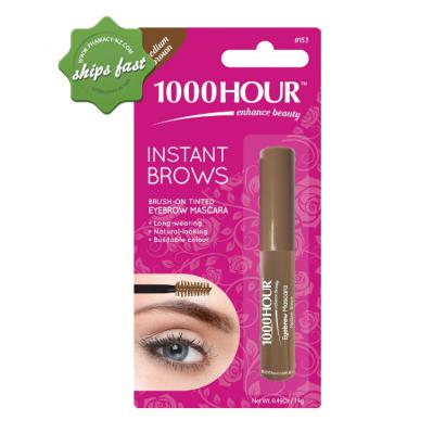 1000 HOUR INSTANT BROWS MASCARA MEDIUM BROWN (Special buy online only)