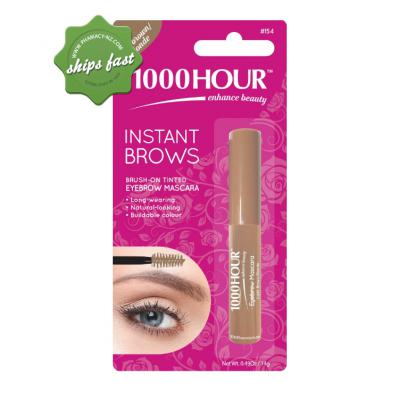 1000 HOUR INSTANT BROWS MASCARA LIGHT BROWN BLONDE (Special buy online only)