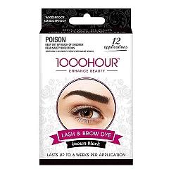 1000 Hour Eyelash & Brown Dye Brown Black