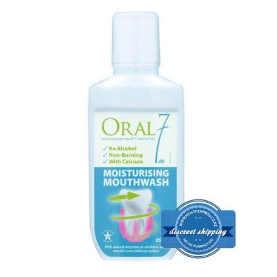 ORAL SEVEN MOUTH WASH 250ML