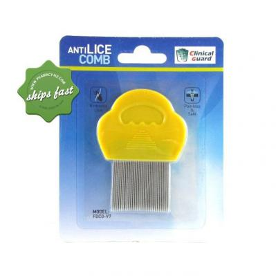 CLINICAL GUARD METAL LICE COMB