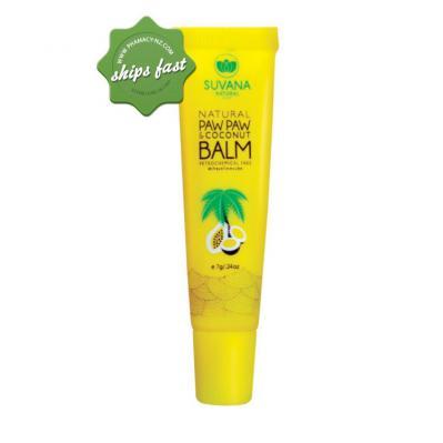 SUVANA PAW PAW COCONUT BALM 7G