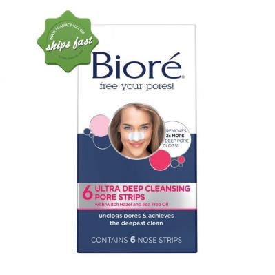 BIORE ULTRA NOSE STRIPS 6S