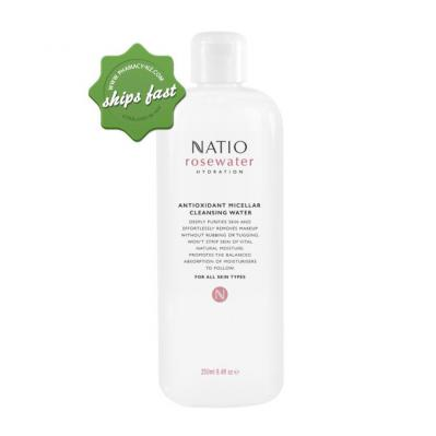 NATIO ROSEWATER HYDRATION ANTIOXIDANT MICELLAR CLEANSING WATER 200ML