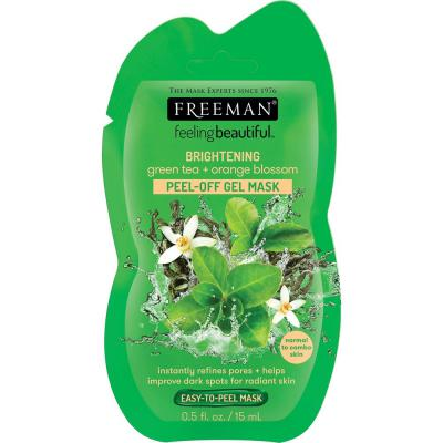FREEMAN GREEN TEA & ORNAGE BLOSSOM MASK 15ML